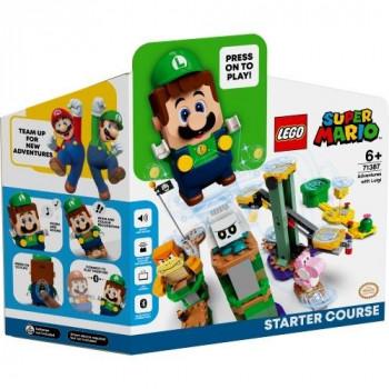 Lego SUPER MIARO 71387 Przygody z Luigim