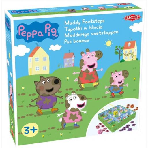 Tupotki w błocie Peppa Pig