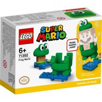 Lego SUPER MARIO 71392 Mario żaba - ulepszenie