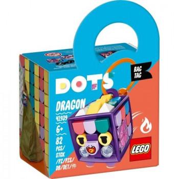 Lego DOTS 41939 Zawieszka ze smokiem
