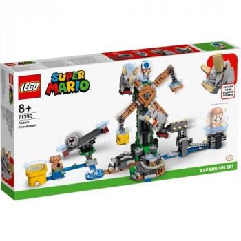 Lego SUPER MARIO 71390 Walka z Reznorami...