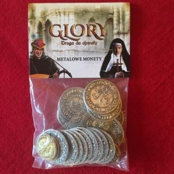 Glory: Droga do Chwały - metalowe monety  - Dodatek