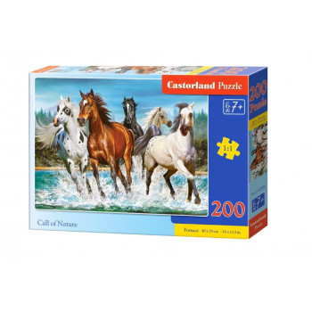 Puzzle 200 Call of Nature CASTOR