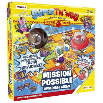SuperThings Secret Spies Wykonaj misję