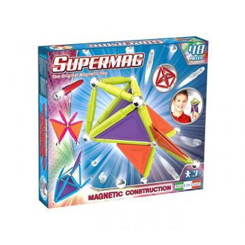 Supermag Tags Trendy 48 El. Klocki Magnetyczne