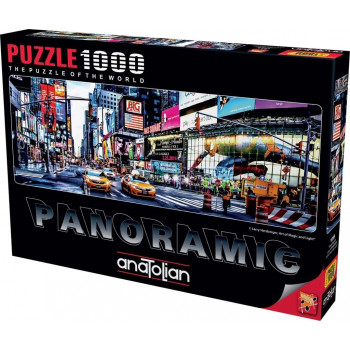 Puzzle 1000 Panorama Nowy York, Time Square