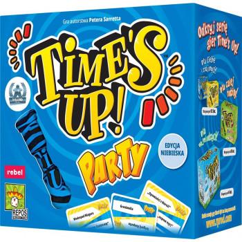 Time's Up! Party (edycja niebieska) REBEL