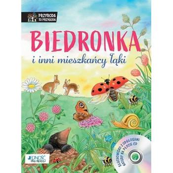 Biedronka i inni mieszkańcy łąki + CD