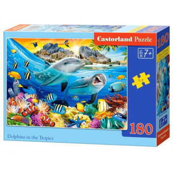 Puzzle 180 Dolphins in the Tropics CASTOR