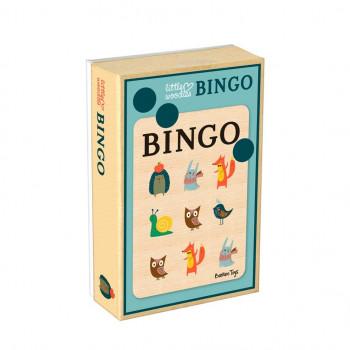 Bingo, Gra Planszowa dla Dzieci, Little Woodies