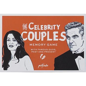 Gra karciana Memory. Celebrity couples