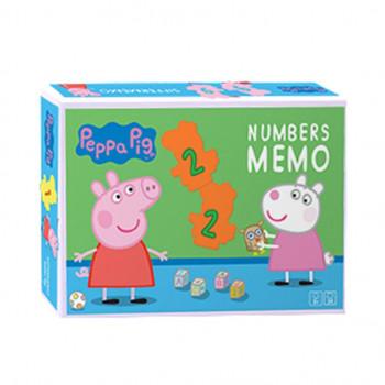 Memory dla dzieci Gra Pamięciowa Liczby Peppa