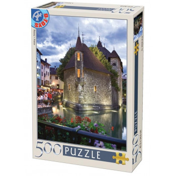 Puzzle 500 Francja, Annecy
