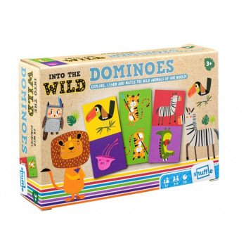 Shuffle - Into the Wilds Dominoes
