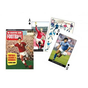 Karty poj. international Football Legends PIATNIK