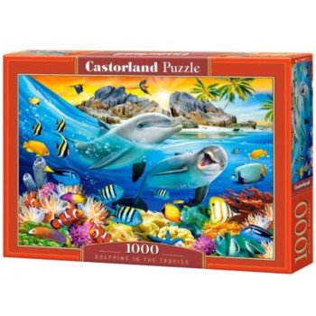 Puzzle 1000 Dolphins in the Tropics CASTOR