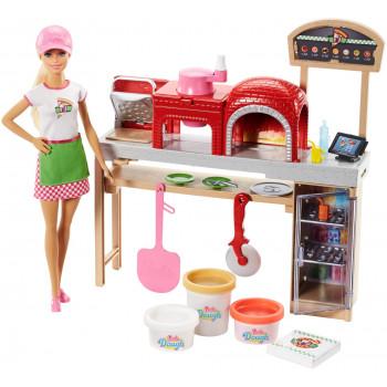 Lalka Barbie Lalka Pizzeria...