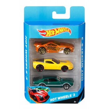 Hot Wheels 3 Pak Resoraków