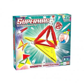 Supermag Tags PRIMARY 35 el. Klocki Magnetyczne
