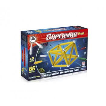 SUPERMAG MAXI ONE COLOR 66 EL, KLOCKI MAGNETYCZNE
