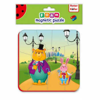 Puzzle Piankowe Magnetyczne...