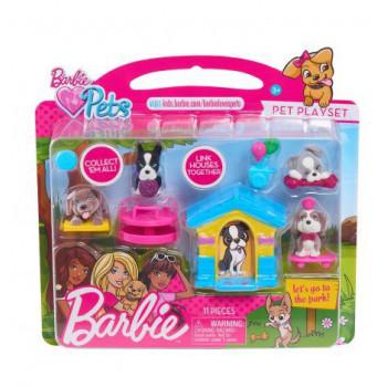 Barbie Puppy Zabawa W Parku...