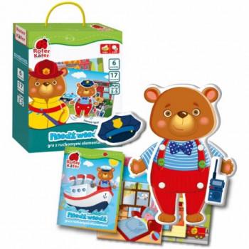 niedźwiedź gra edukacyjna planszowa
