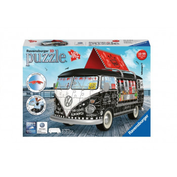 Puzzle 3d Vw Bus Food Truck...