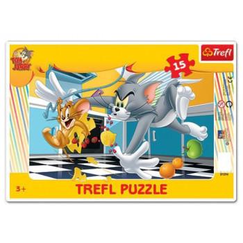 Puzzle Ramkowe 15el. Tom &...