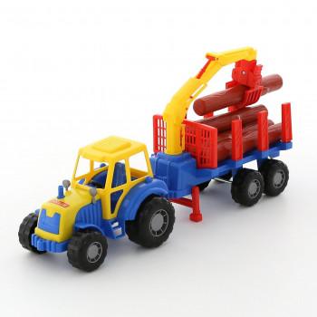 Traktor Z Naczepą Do...