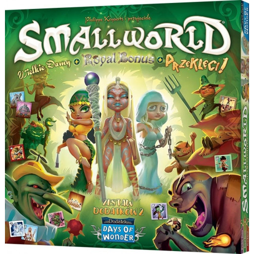 Small World: Wielkie Damy+Royal Bonus+ Prze. REBEL