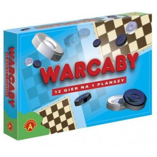 Warcaby 12 gier na planszy ALEX