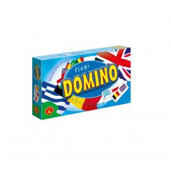 Domino obrazkowe - flagi ALEX