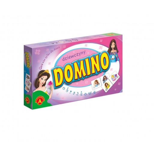 Domino obrazkowe - dziewczyny ALEX
