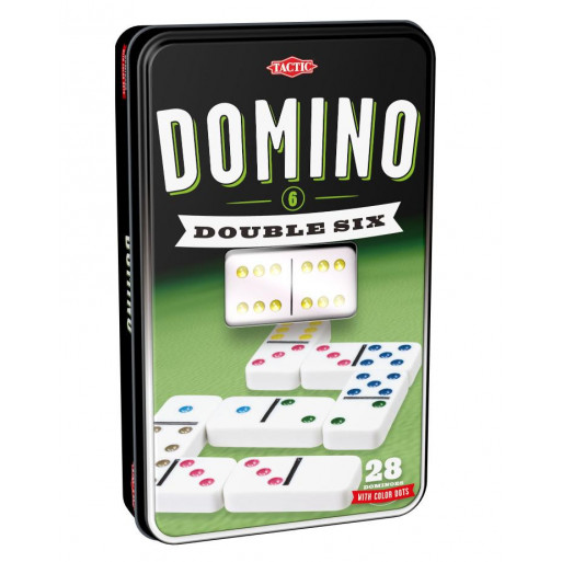 Domino klasyczne w puszce