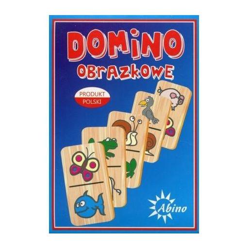 Domino obrazkowe - owoce/zwierzęta ABINO
