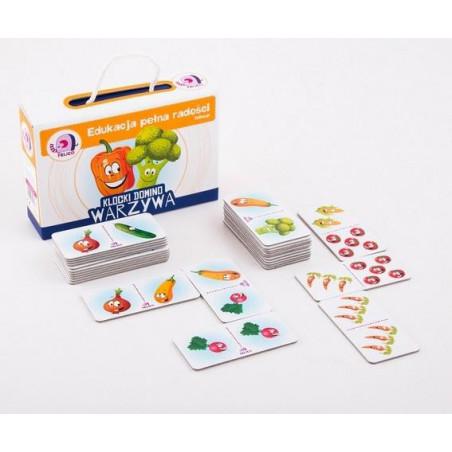 Klocki domino - Warzywa