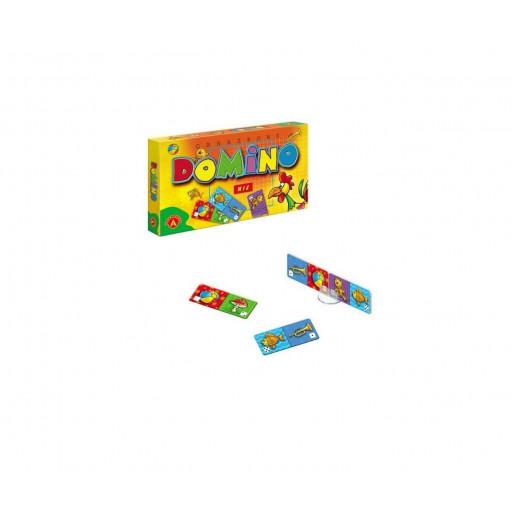 Domino obrazkowe - mix ALEX