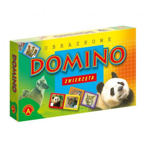Domino obrazkowe - zwierzęta ALEX