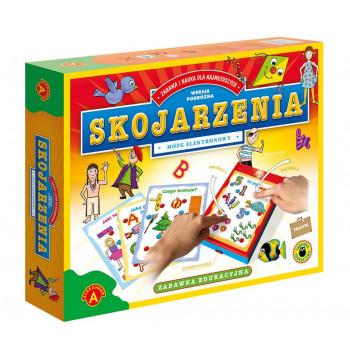 Gra Edukacyjna Mózg elektronowy - Skojarzenia. Travel ALEX