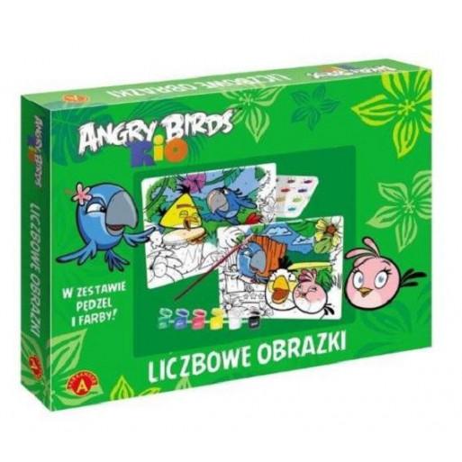 Gra Edukacyjna Angry Birds Rio. Liczbowe obrazki ALEX