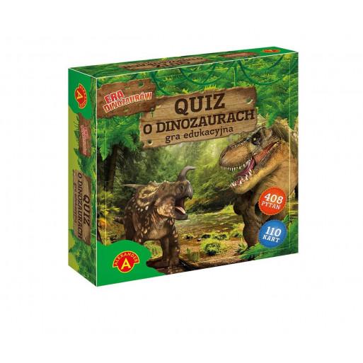Gra Edukacyjna Era dinozaurów - Quiz o dinozaurach ALEX