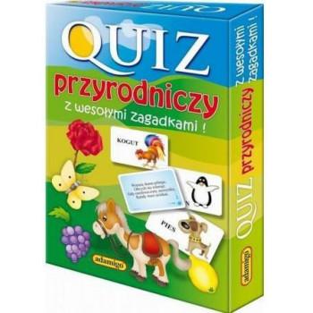 Gra Edukacyjna Quiz przyrodniczy z wesołymi zagadkami