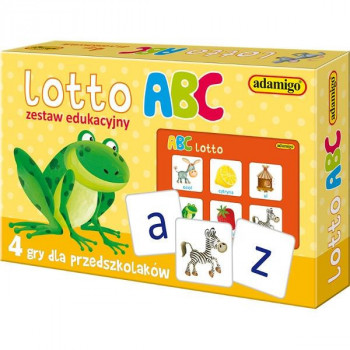 Gra Edukacyjna Lotto ABC