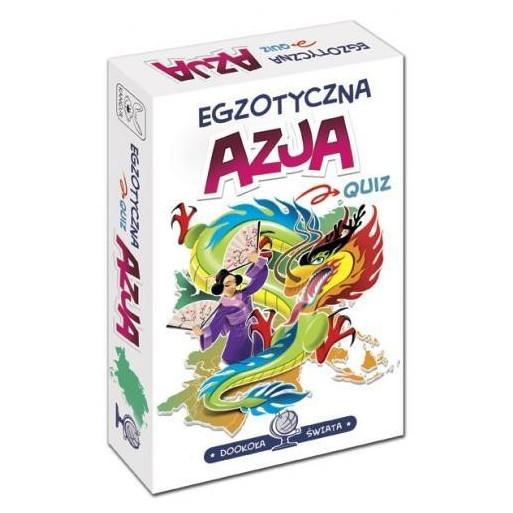 Gra Edukacyjna Dookoła świata. Egzotyczna Azja