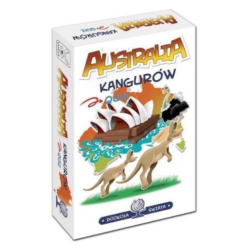 Gra Edukacyjna Dookoła świata. Australia kangurów