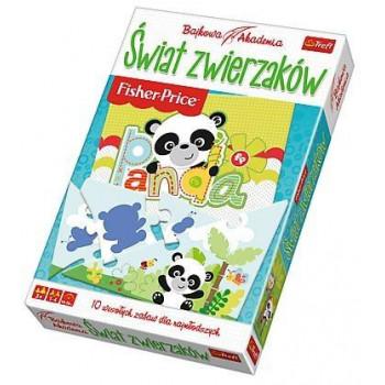 Gra Edukacyjna Świat zwierzaków. Bajkowa Akademia TREFL
