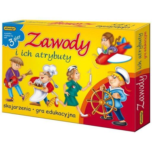 Gra Edukacyjna Loteryjka - Zawody i ich atrybuty