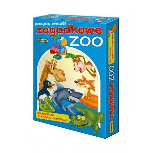 Gra Edukacyjna Układanka - Zagadkowe Zoo