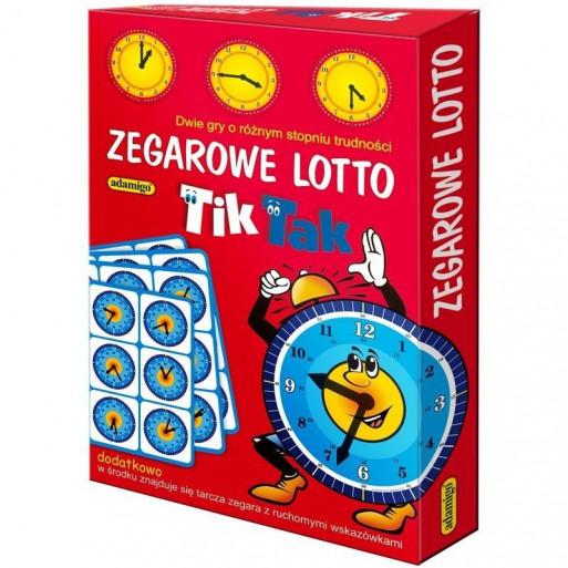 Gra Edukacyjna Lotto Zegarowe